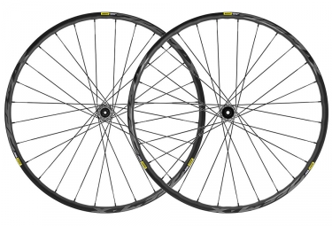 Mavic Deemax Elite Wheelsest 2019 27.5 '' | Impulso 15x110mm - 12x148mm | Negro