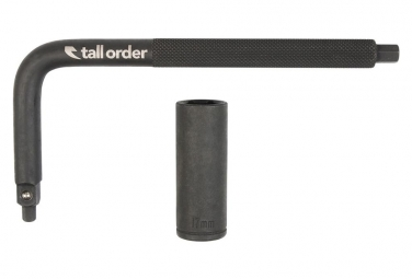 Image of Cle allen 6 8 mm cle a pipe 17mm tall order noir