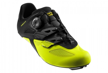 MAVIC Comsmic Elite Road Shoes Black Yellow