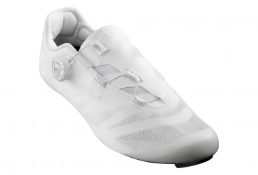 Paire de chaussures route mavic cosmic sl ultimate blanc 44