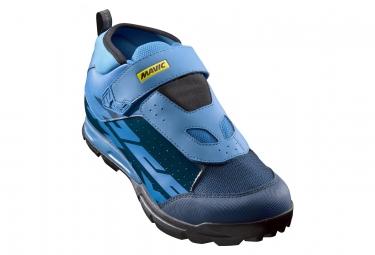 Paire de chaussures vtt mavic deemax elite bleu indigo bleu fonce 40