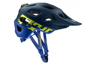 MAVIC Crossmax Pro MTB Helmet Dark Blue / Neon Yellow