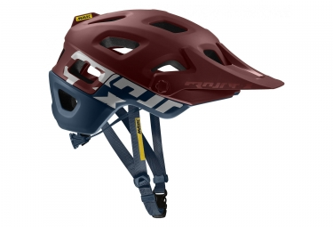MAVIC Crossmax Pro MTB Helmet Dark Red / Dark Blue