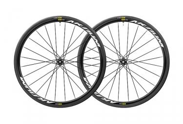 Mavic Aksium Elite UST Disc Wheelset 2019| 12/9x100mm - 12x142mm/9x135mm | 6 Bolts | Yksion Pro UST 28mm