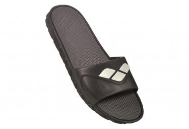 Sandales de Bain Arena Watergrip Noir Gris