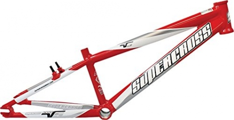 Cadre bmx supercross envy v5 red expert xl