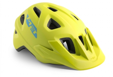 Met Eldar Kids Helmet Lime Green Matt