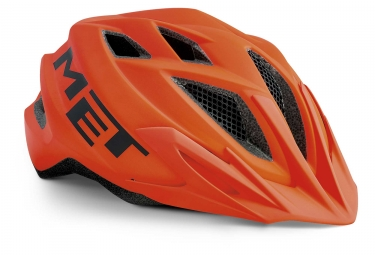 Met Crackerjack Kids Casco Naranja Mate Unique  52 57 Cm