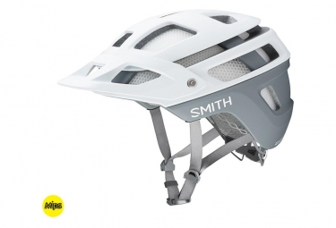 Casque vtt smith forefront 2 blanc mat s 51 55 cm