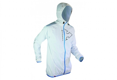 Veste raidlight hyperlight mp blanc bleu s