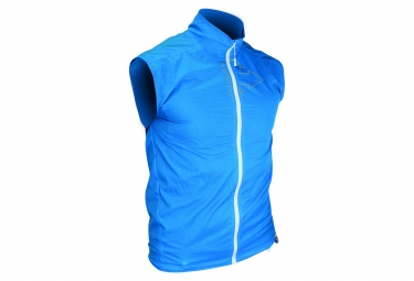 Gilet coupe vent raidlight ultra bleu l
