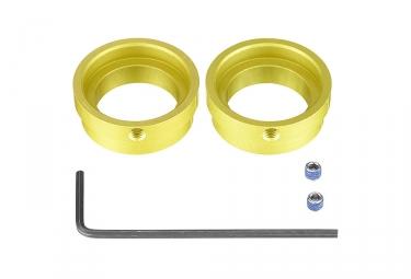 Adaptateur avant mavic boost 15x110mm 2017 et avant jaune