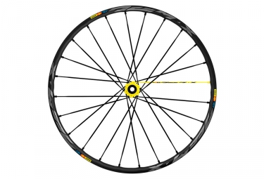 Roue avant 2019 mavic e deemax pro 27 5 boost 15x110mm 6 trous