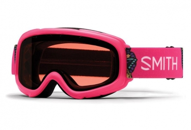 Smith Gambler MX Youth Goggle Hot Pink