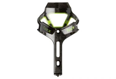 Tacx Ciro Bottle Cage Black Green Shiny