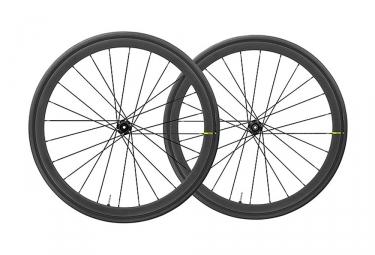 Mavic Ksyrium Pro Carbon UST Disc Wheelset 2019 | 12/9x100mm - 12x142mm/9x135mm | Centerlock | Black