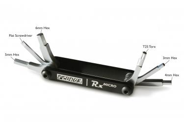 Pedro's RX Micro Multi Tool 6 Black