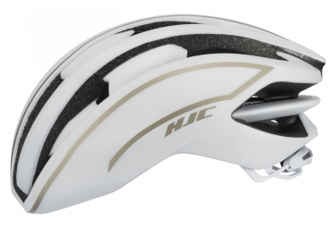 Casque route hjc ibex blanc or xl xxl 60 63 cm