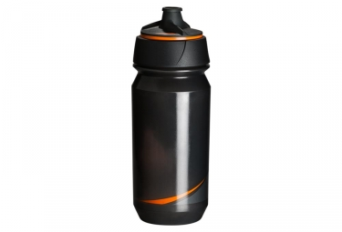 Bidon tacx shanti smoke noir orange 500 ml