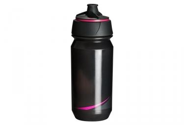Bidon tacx shanti smoke noir rose fluo 500 ml
