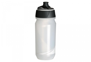 Bidon tacx shanti transparent blanc 500 ml