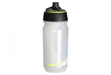 Bidon tacx shanti transparent jaune fluo 500 ml