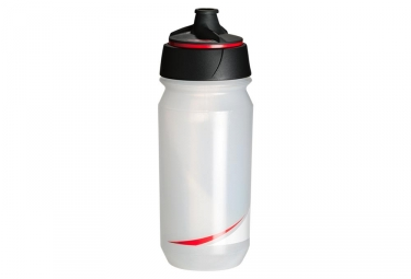 Bidon tacx shanti transparent rouge 500 ml