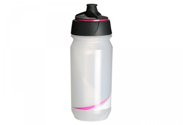 Bidon tacx shanti transparent rose fluo 500 ml