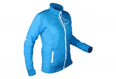 Raidlight ULTRA WINDPROOF Women's Long Sleeves Jacket Blue