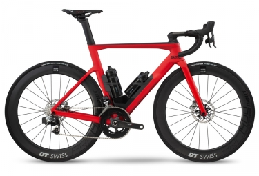 Velo de route 2019 bmc timemachine road 01 two disc sram red etap hrd rouge 54 cm 172 180 cm