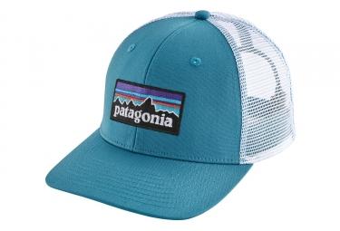 Patagonia P-6 Logo Trucker Hat Blue