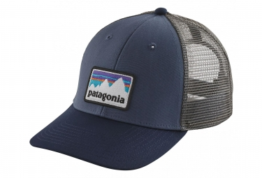 Casquette patagonia shop sticker patch lopro bleu