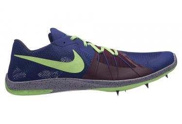 Chaussures d'Athlétisme Nike Zoom Forever XC 5 Bleu / Vert