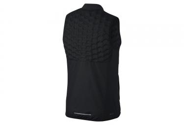 Veste thermique sans manche zip nike aeroloft noir l