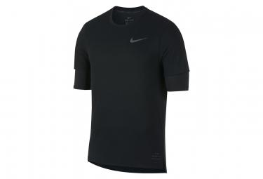 Maillot Manches Courtes Nike Rise 365 Noir