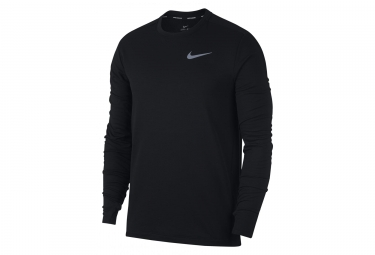 Maillot manches longues nike therma sphere element noir l