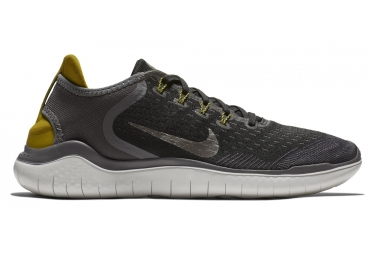 Nike free rn 2018 noir gris or homme 44