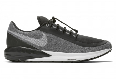Nike air zoom structure 22 shield noir blanc femme 38