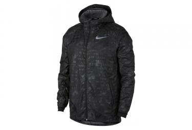 Nike Shield Flash Water-Repellent Jacket Black