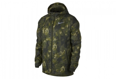Nike Shield Flash Water-Repellent Jacket Camo