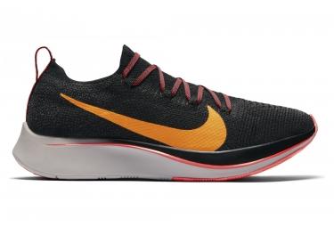 Zapatillas Nike Zoom Fly Flyknit para Mujer Negro / Naranja
