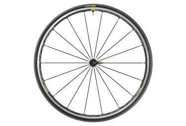 Mavic Ksyrium Elite UST Front Wheel 2019 | 9x100mm | Yksion Pro UST | Black / Grey