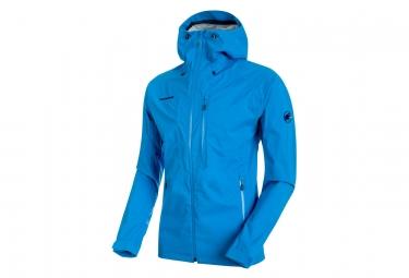 Mammut Kento chaqueta con capucha azul