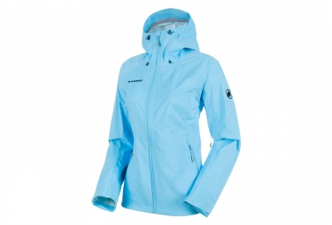 Mammut Keiko Women's Hooded Jacket Blue