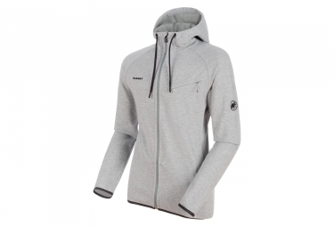 Mammut Logo Midlayer Jacket Grey