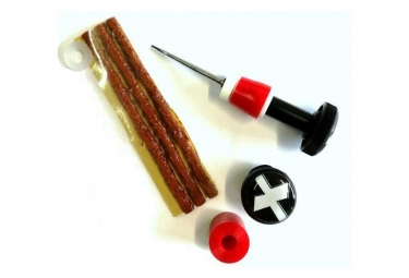 Kit de reparation tubeless maxalami outil twister 3 meches