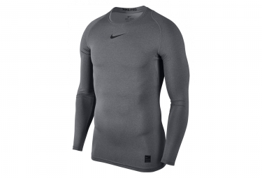 Nike Pro Top Long Sleeves Jersey Grey