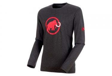 Mammut Logo Long Sleeves Top phantom Magma