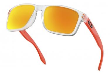 00e3e9cf69 Gafas de sol Oakley Holbrook Crystal Clear / Fire Iridium / Ref ...