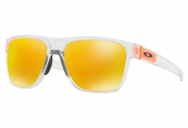 Lunettes Oakley Crossrange XL Crystal Pop / Crystal Clear / Fire Iridium / Ref. OO9360-1858
